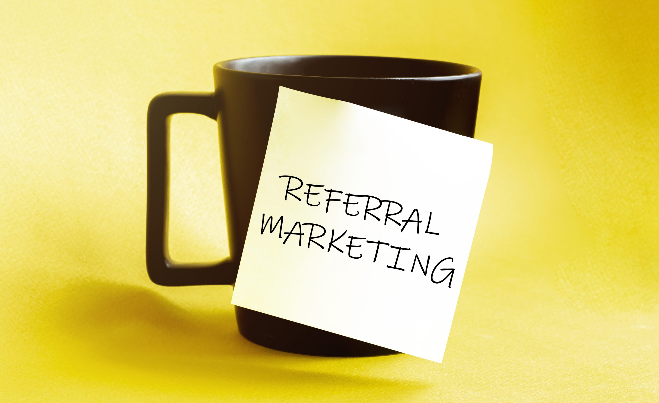 referral marketing black cup